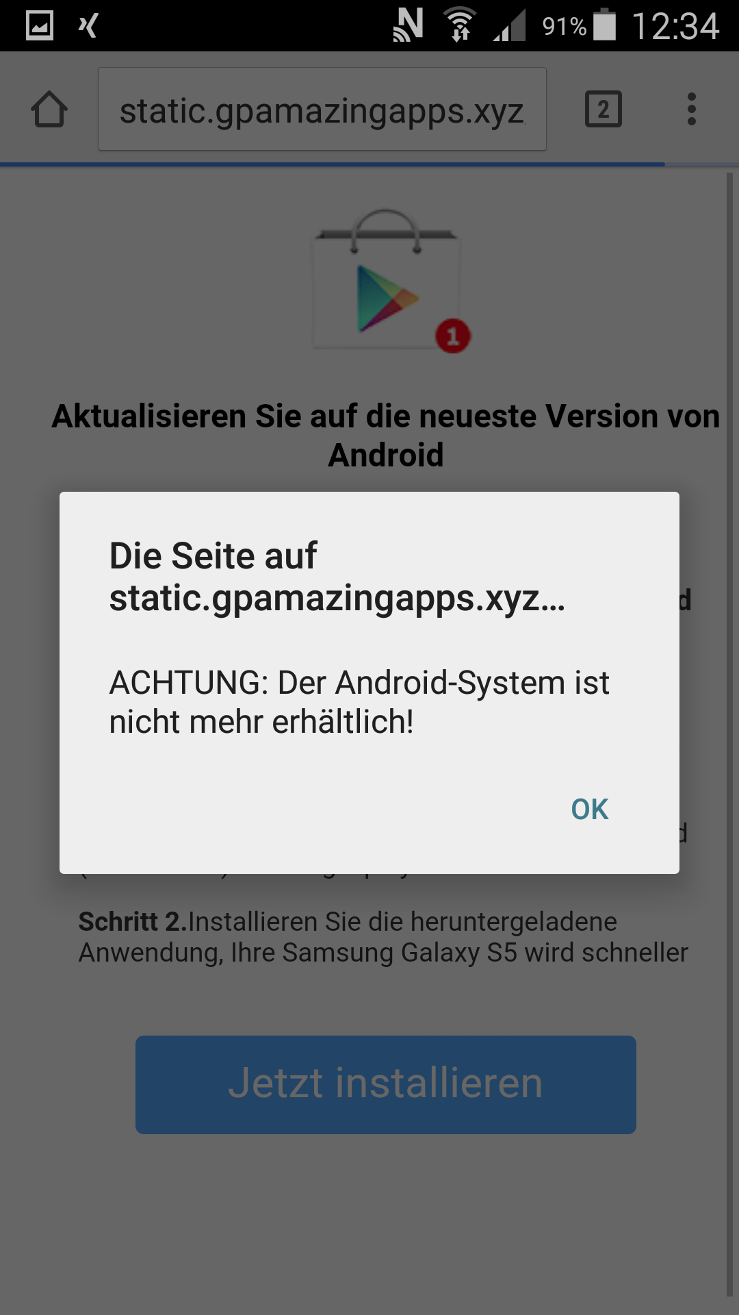 Android dating seiten spam