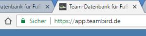 Sichere Teamverwaltung